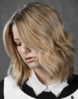cortes de pelo medios – medium length bob with layers