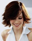 cabello medio - not-too-short hairstyle