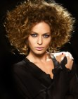 cabello medio - midlength curly hair
