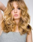 cortes cabello medio - sandy blonde hair