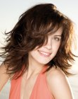 peinados media melena - mid-length bob with movement