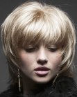 peinados medios - hairstyle with textured tips