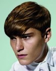 peinados para hombres - fluid haircut for men