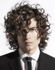 cortes para hombres - curls for career men