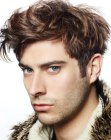 cortes para hombres - untamed look for men
