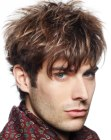 cortes para hombres - highlights for male hair