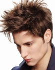 peluquería para hombres - spiked hairstyle
