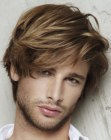 peinados para hombres - male hairstyle with fringe