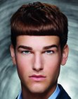peinados para hombres - hairstyle for fashionable men
