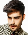 looks para hombres - mens haircut with wow factor