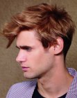 looks para hombres – mens cut with a short back