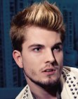 looks para hombres – highlights hair for guys
