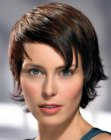 peinados cortos - short sleek hair