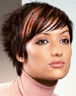 peinados cortos - choppy short hairstyle