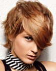 peinados cortos - hair with short layers