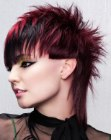 cabello corto - spiked hairstyle