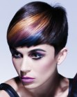 cortes cabello corto - hair color streaks