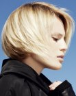 cabello corto - sporty short bob