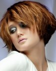cabello corto - short haircut for thick hair