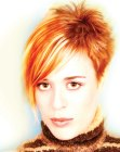 peinados cortos - short hair with spikes