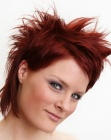 peinados cortos - red short hair - John Beerens