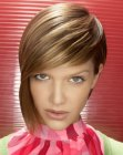 cabello corto - asymmetrical short hair
