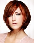 cabellos cortos - modern short chin caressing haircut