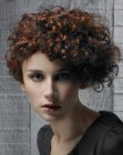 cortes cabello corto - short curly hair