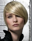 cortes cabello corto - contour cut for short hair