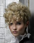 cortes cabello corto - short hair with curls
