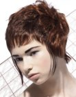 peinados cortos - short hair wtih short bangs