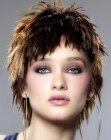 peinados cortos - short textured hair