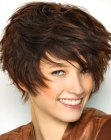 peinados cortos - short hair with layers