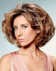 peinados cortos - short hairstyle with volume