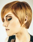 estilos cortos - contemporary short haircut
