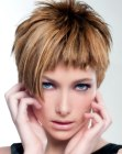 peinados cabello corto - short hair with asymmetry