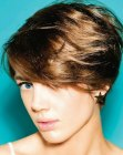 peinados cortos - easy summer hairstyle