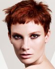 peinados cortos - short and wispy hair