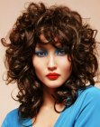 cabello largo – bouncing curls