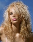 cabello largo - long blonde hair