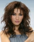 peinados modernos - Asian hairstyle with layers