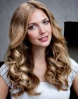 cortes de moda - trendy hairstyle with waves