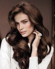 cortes para cabello largo - long hairstyle with volume