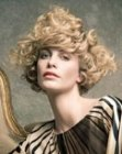 cabellos recogidos - vintage hair style with curls